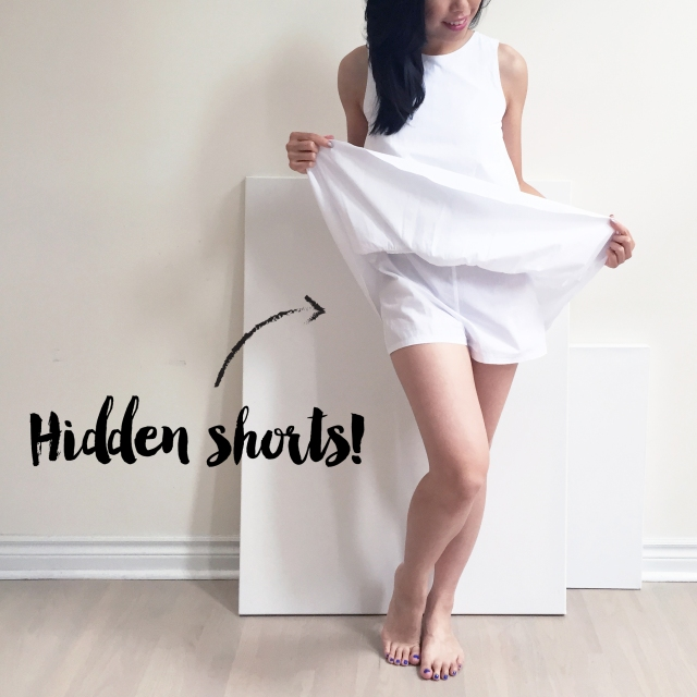 3 ways to accessorize - Zara Romper - Blog - Hidden shorts