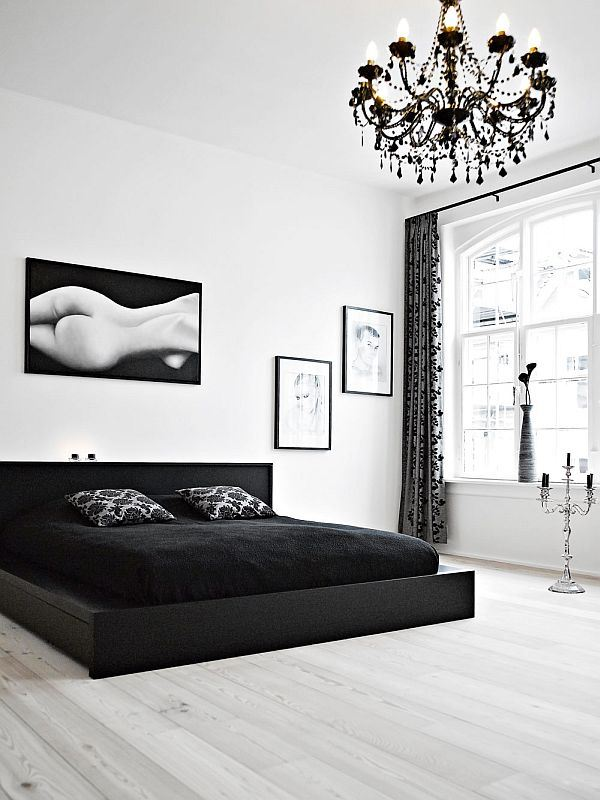 black-white-duplex-interior-design-bedroom