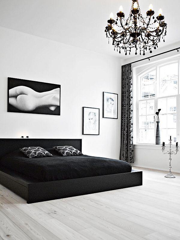 black-white-duplex-interior-design-bedroom