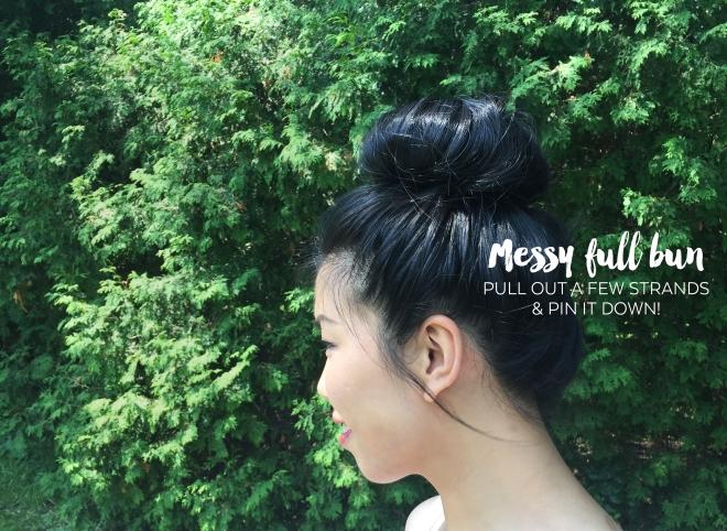 July 25 - Flower Market Outfit - Blog - Bun