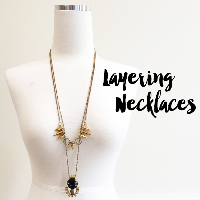 Casual Chic - Layering Necklaces
