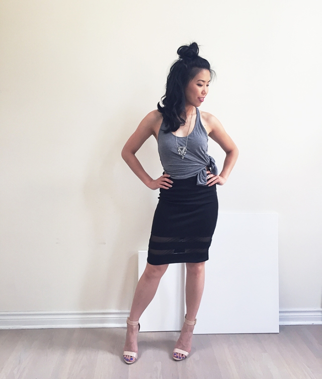 MyObsessionMonday - H&M Skirt - Blog - Full Look (700)