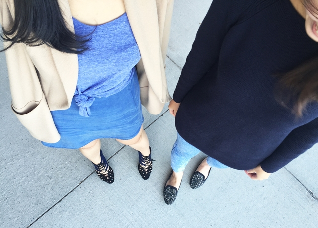 Oct 8 - Nude & Blue Outfit - Twins (LR)