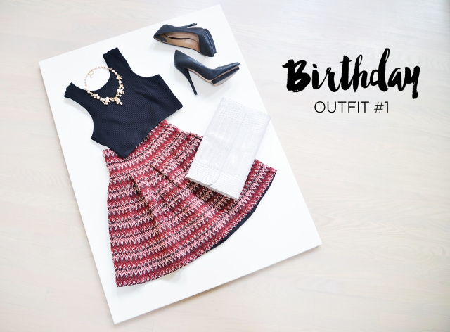 My Birthday Lookbook - Blog - Outfit 1