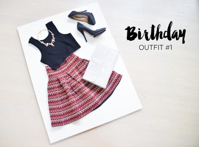 My Birthday Lookbook - Blog - Outfit 1