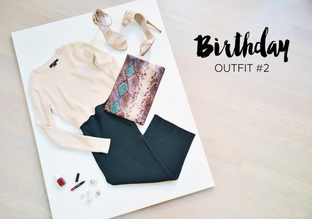 My Birthday Lookbook - Blog - Outfit 2