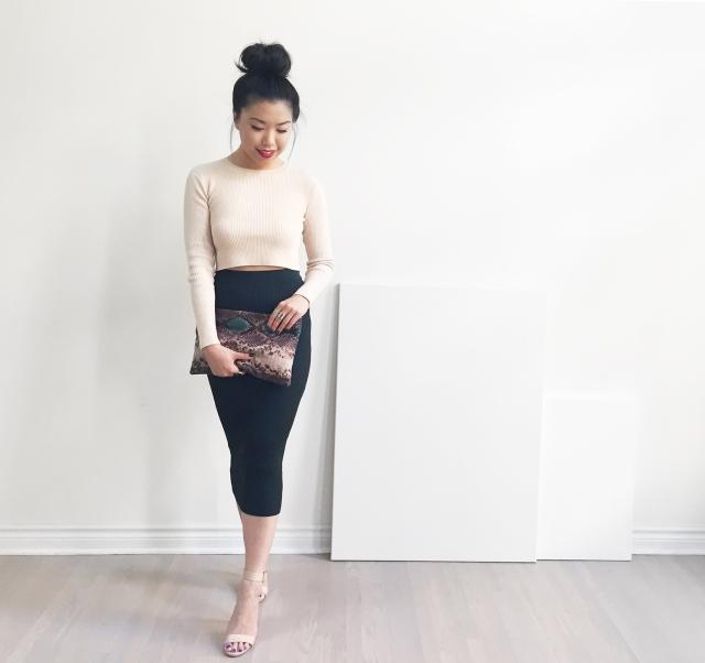 My Blanc Canvas - Look 2