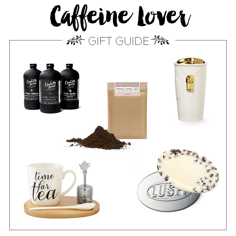 Heather's Gift Guide - Caffeine Lover