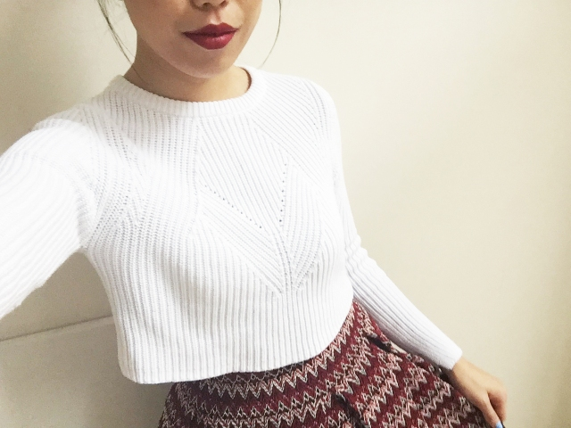 Holiday Lookbook - Outfit 2 - close up