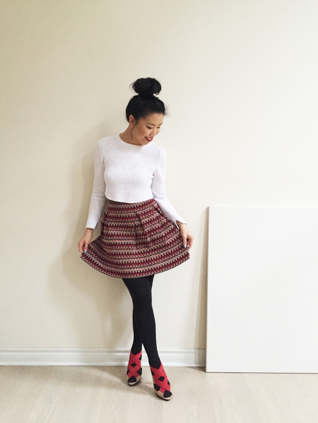Holiday Lookbook - Outfit 2 - full look