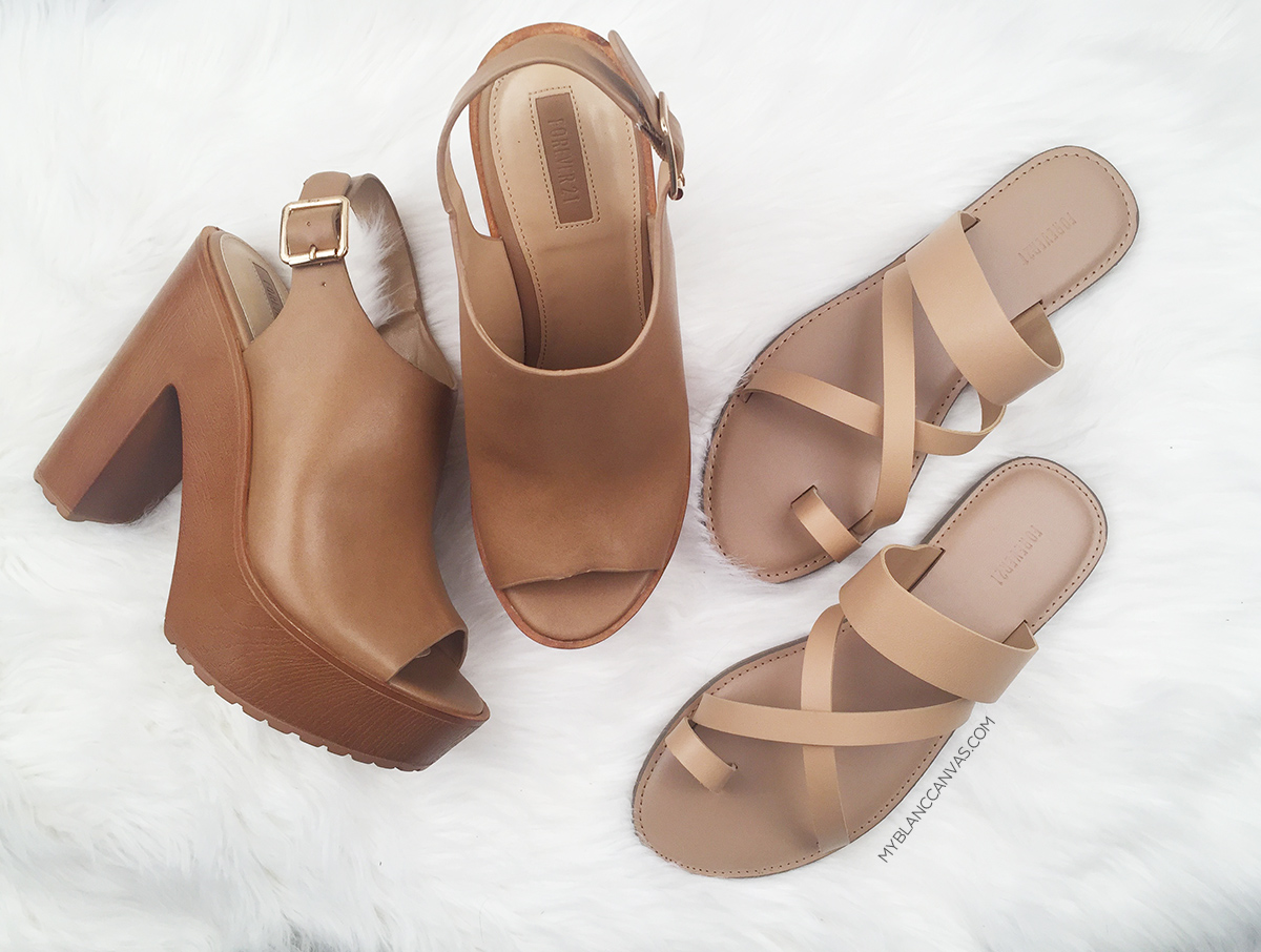 Forever21 Shoe Haul - Nudes.jpg