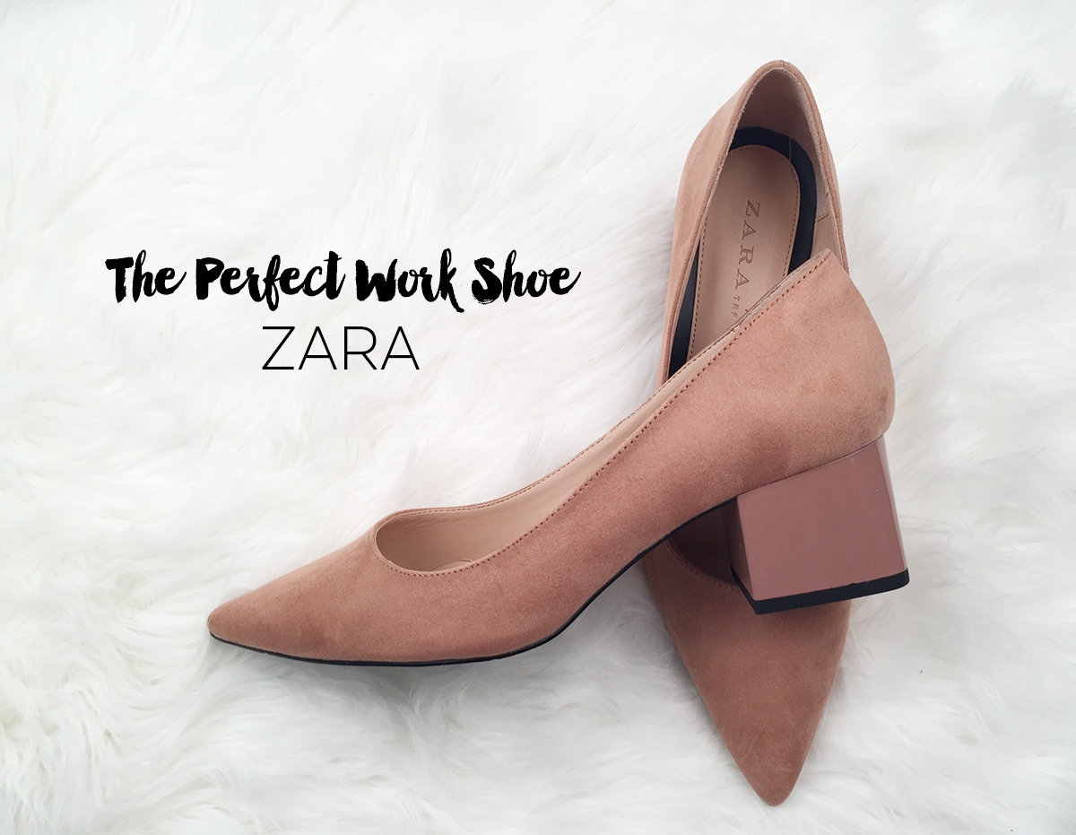 Zara Medium Heel Shoes