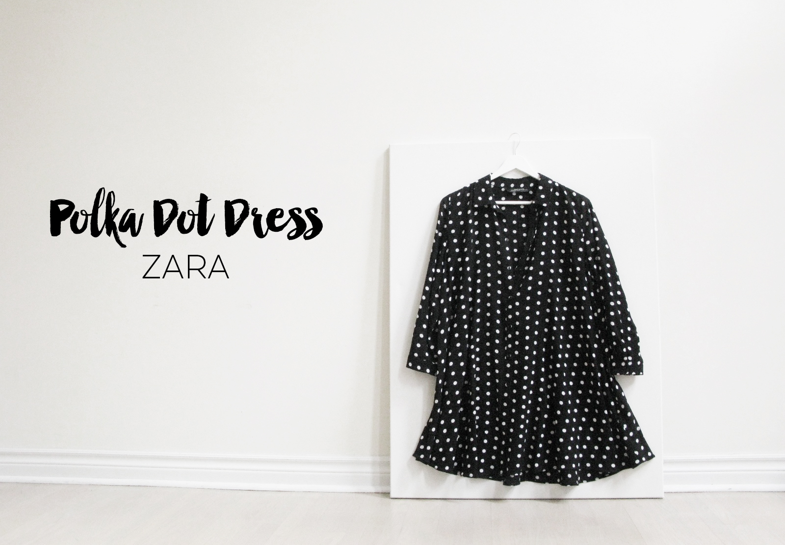 My Obsession Monday - Zara Polka Dot Dress.jpg