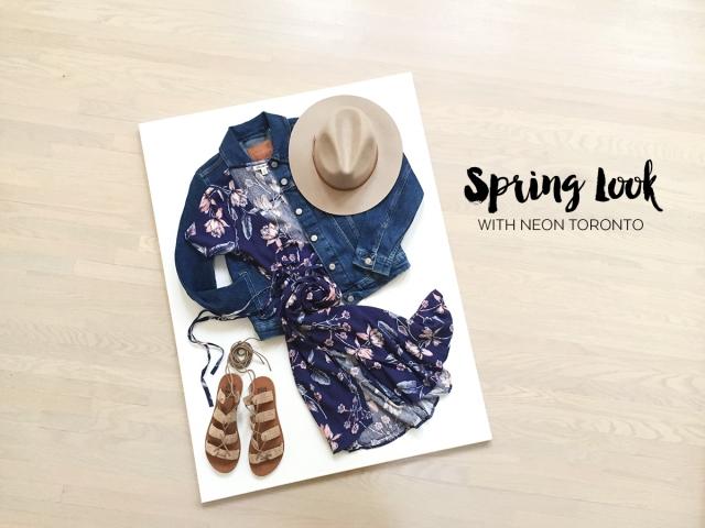 NEON Spring Look - Full Look