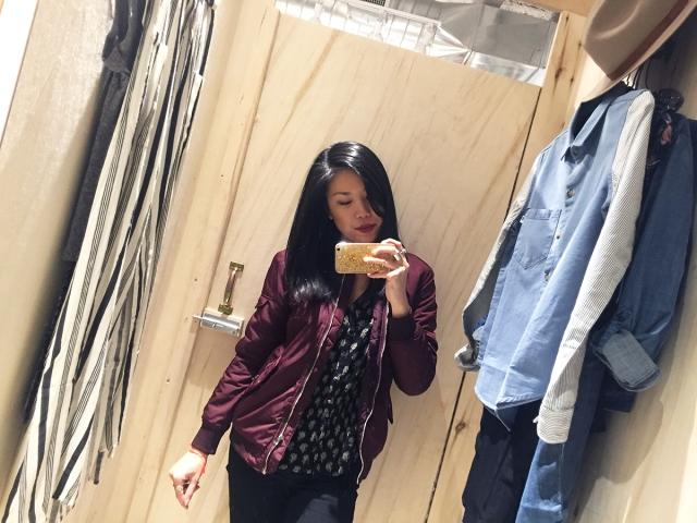 NEON Spring Shopping - selfie