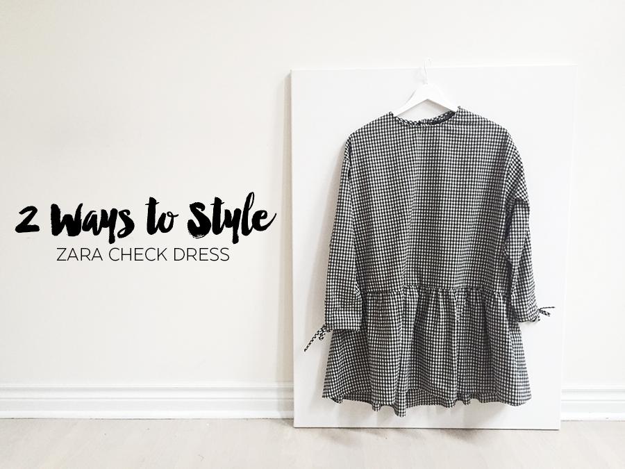 Sept 2017 - 2 Looks Zara Check Dress - Cover.jpg