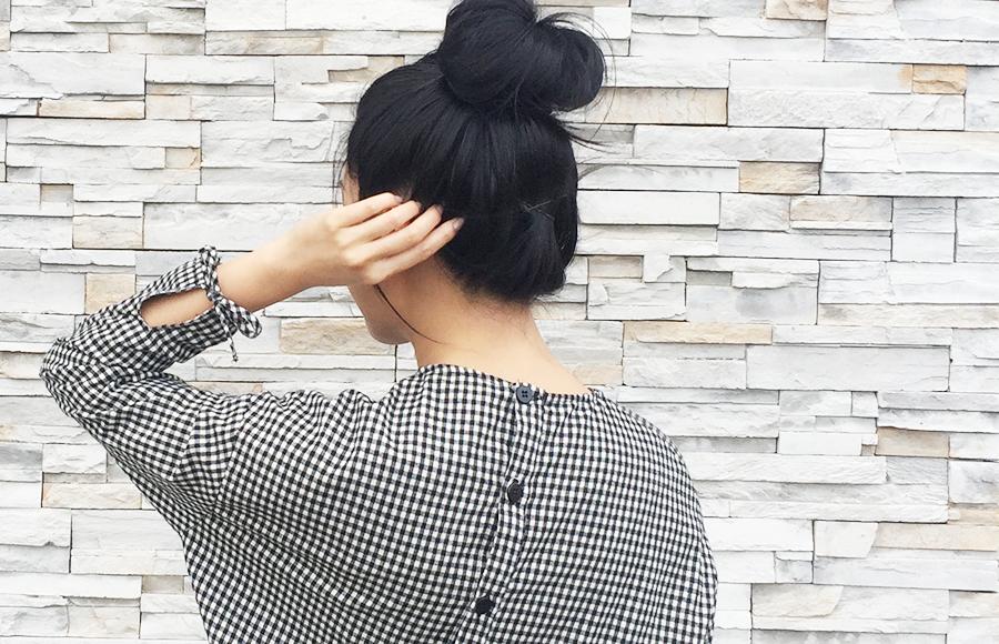 Sept 2017 - 2 Looks Zara Check Dress - details2.jpg