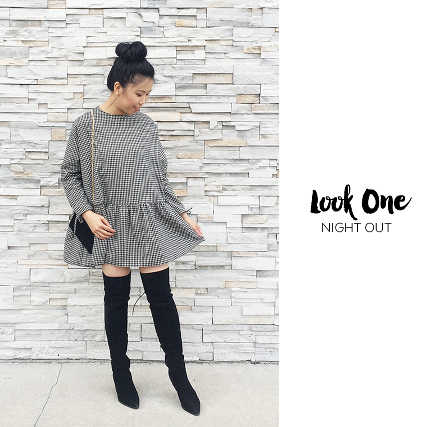 Sept 2017 - 2 Looks Zara Check Dress - Look1 Cover.jpg