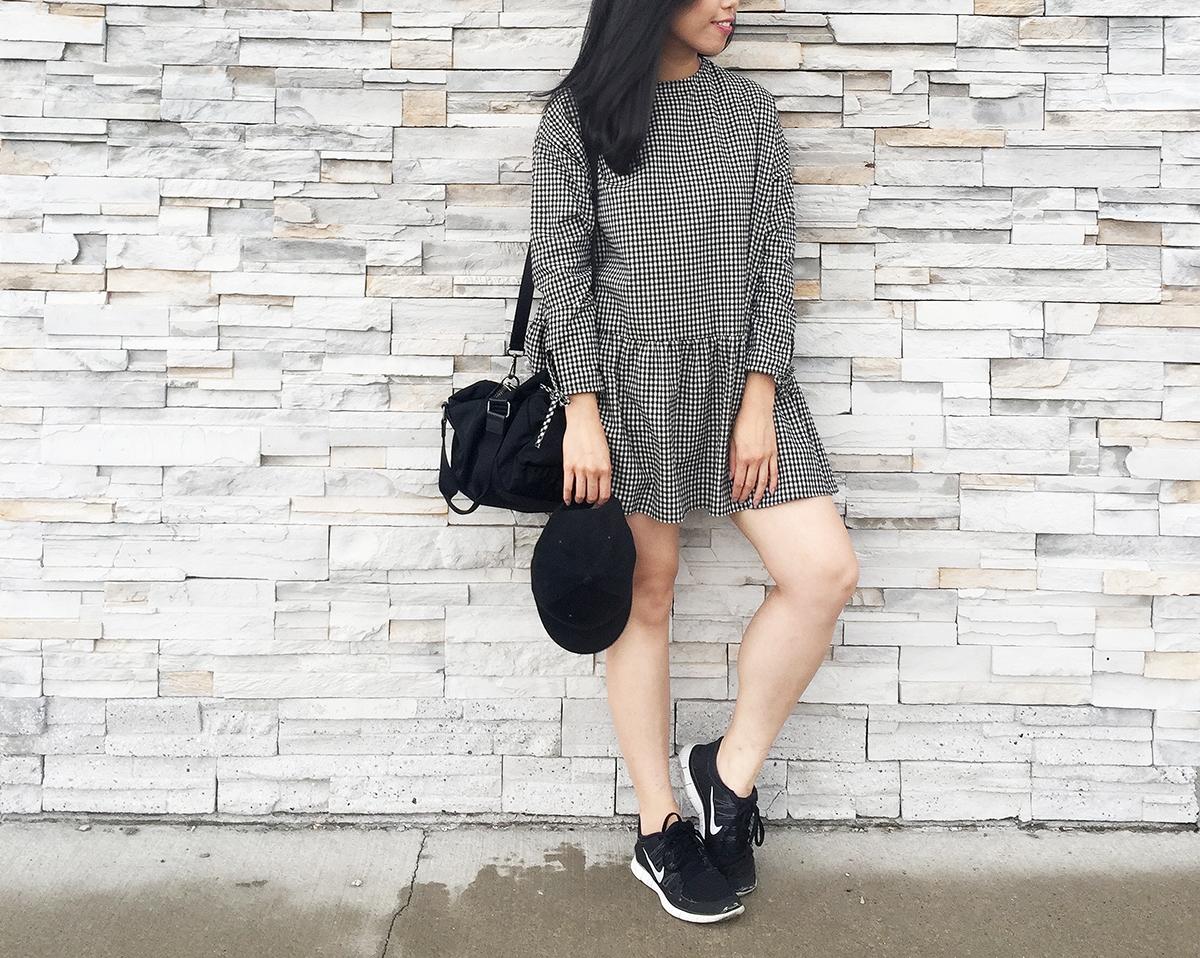 Sept 2017 - 2 Looks Zara Check Dress - Look2B.jpg