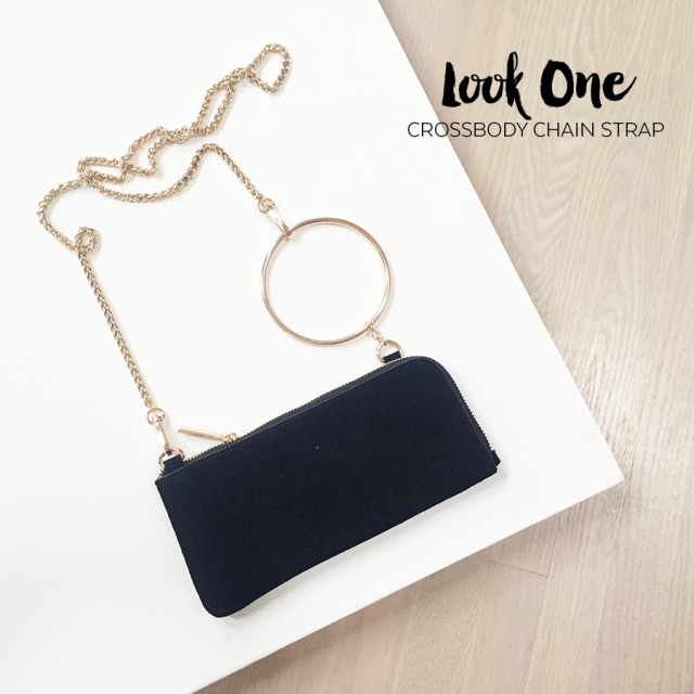 Sept 2017 - Zara Suede Crossbody - Look 1