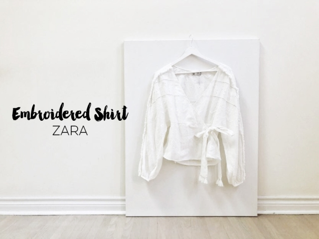 MyObsessionMonday - Zara Embroidered - cover