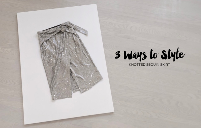 Zara Wrap Sequin Skirt - 3 Ways to Style Cover.jpg